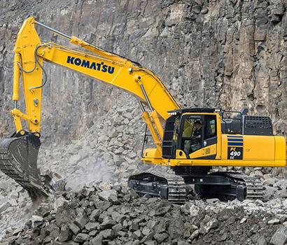 Komatsu PC490 image