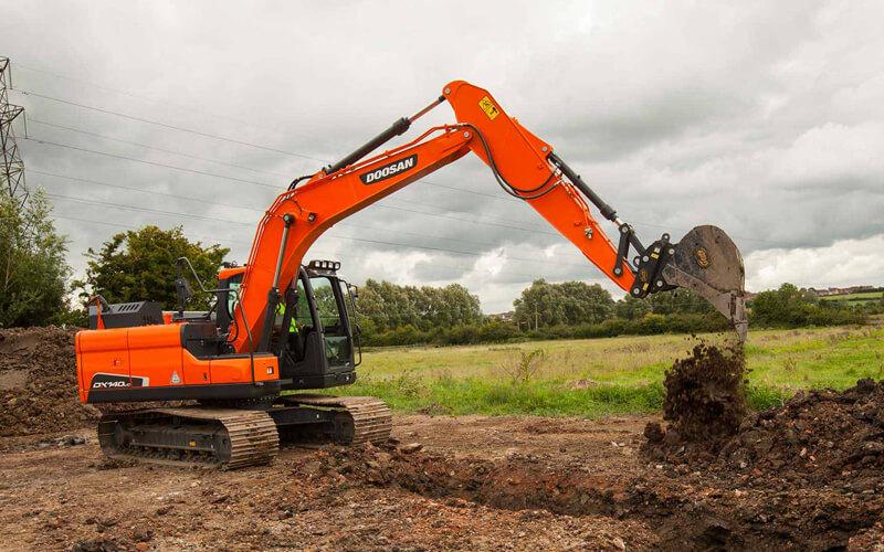 Crawler Excavators supporting image