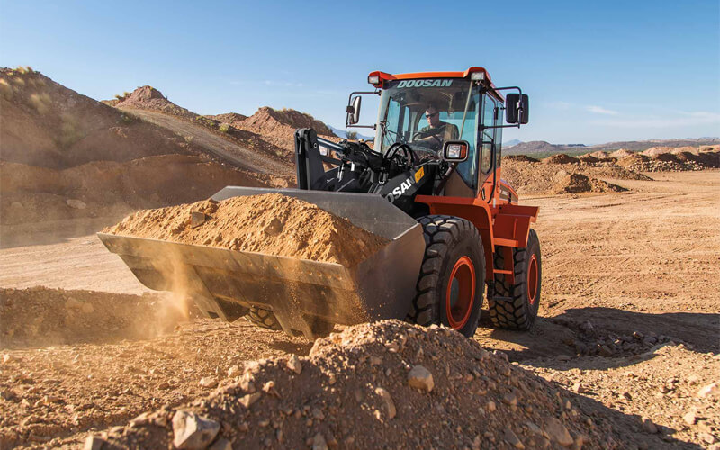 Wheel Loaders supporting image